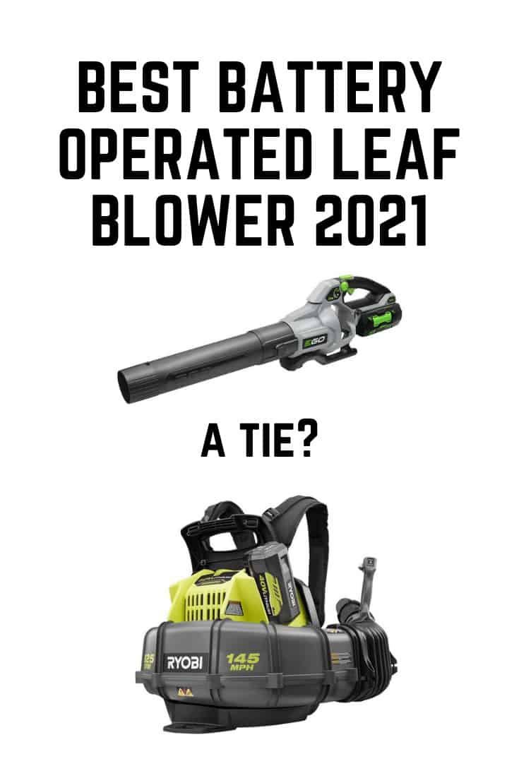 best battery operated leaf blower