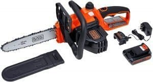 black and decker 20v cordless chainsaw