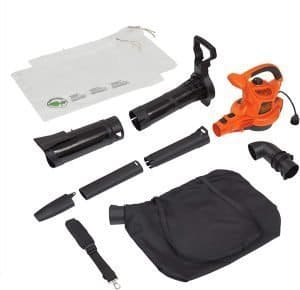 black and decker 3 in 1 electric leaf blower