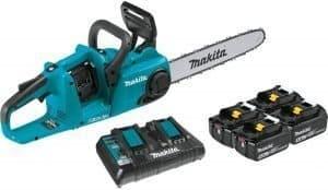 makita 18v x2 cordless chainsaw
