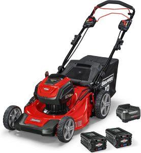 snapper 21 inch 82v lawnmower