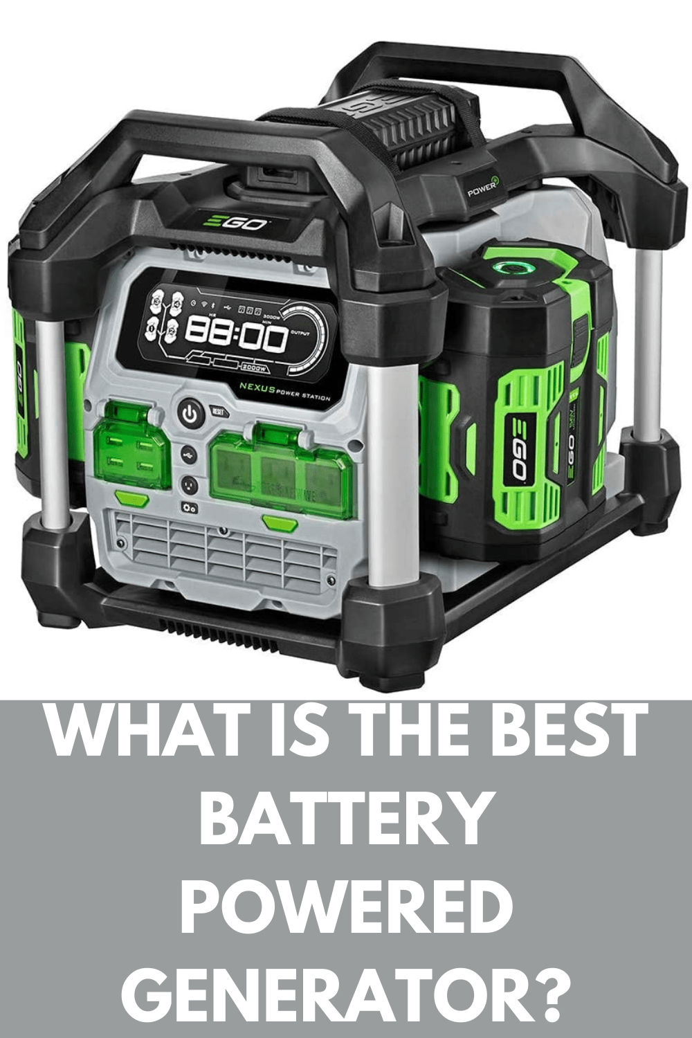 the best battery powered generator