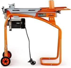 yardmax electric log splitter with stand
